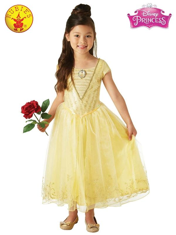 Belle Live Action Deluxe Child Costume, Child