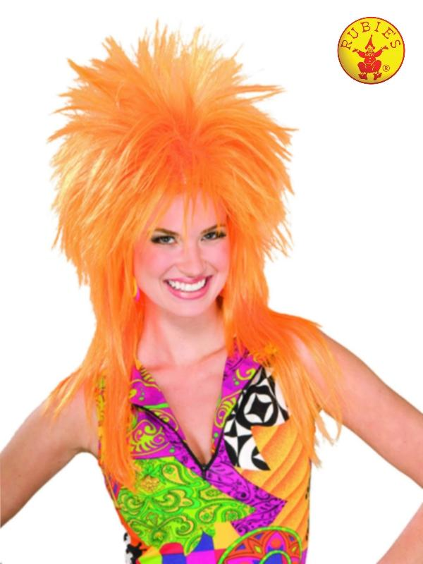 Orange Burst Wig - Adult