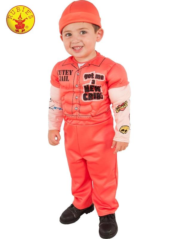 Muscle Man Prisoner Deluxe Costume, Child