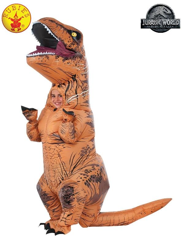 T-rex Inflatable Costume With Sound, Child