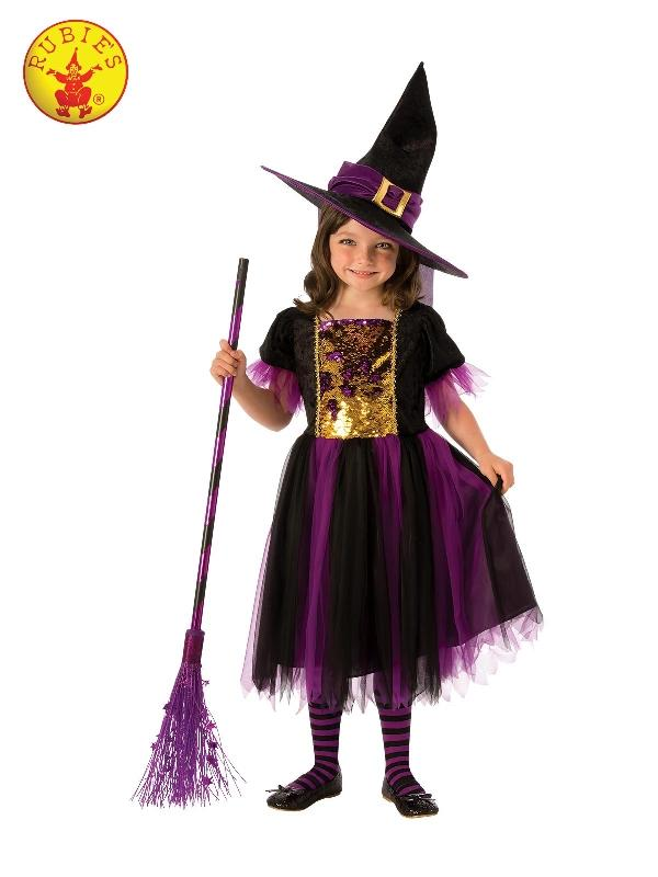 Colour Magic Witch Costume, Child