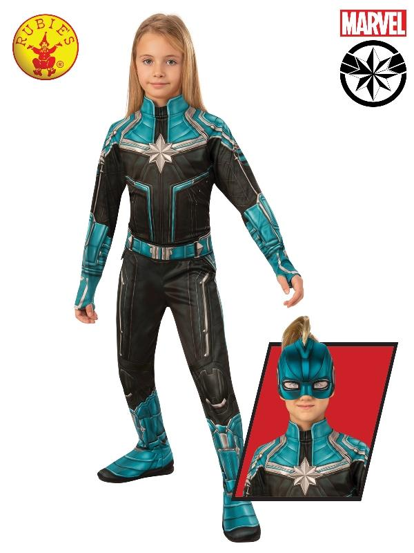 Captain Marvel Classic Kree Suit, Child