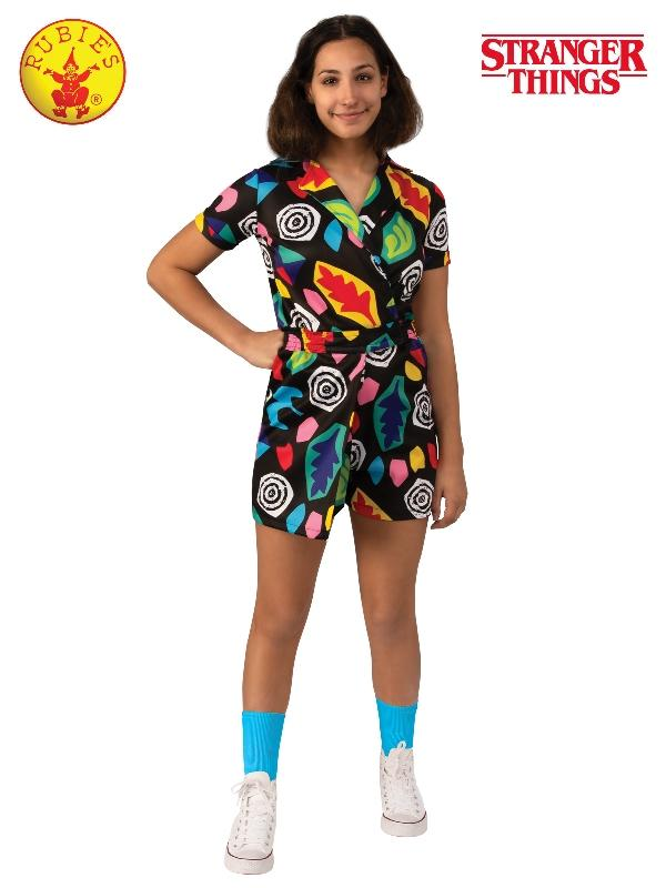 Eleven Mall Dress Costume Stranger Things, Child