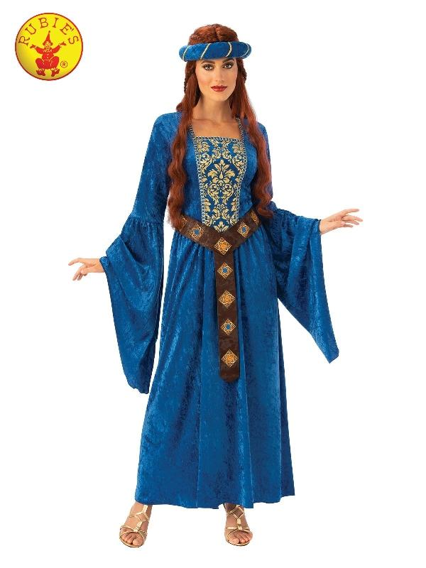 Juliet Medieval Maiden Costume, Adult