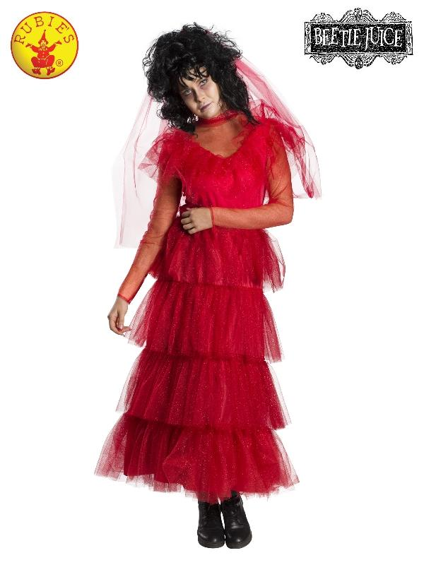 Lydia Deetz Wedding Dress Costume, Adult