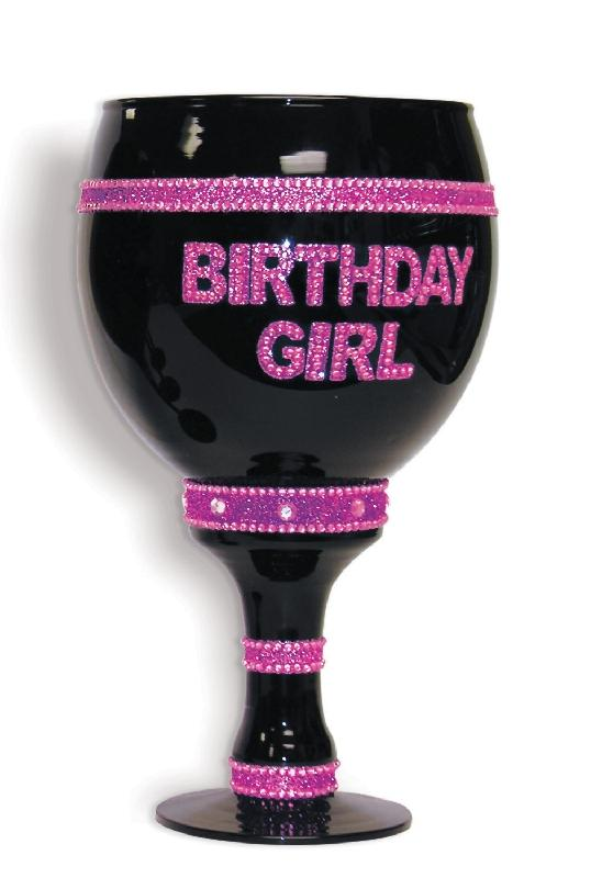 Jumbo Goblet - Birthday Girl