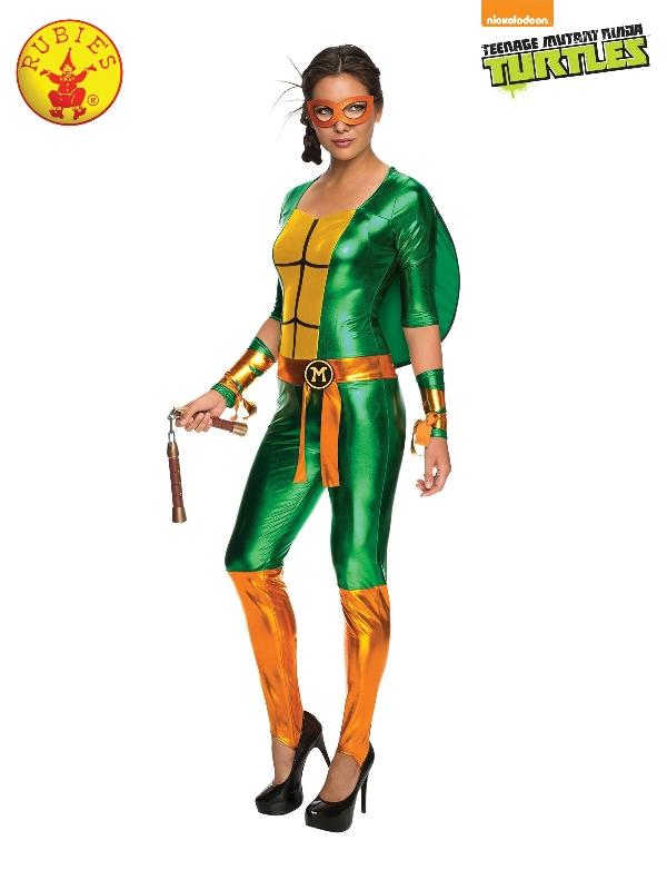 Tmnt Michelangelo Jumpsuit, Adult