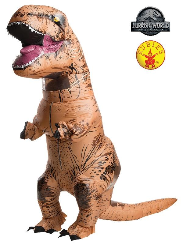T-rex Inflatable Plus Size Costume, Adult