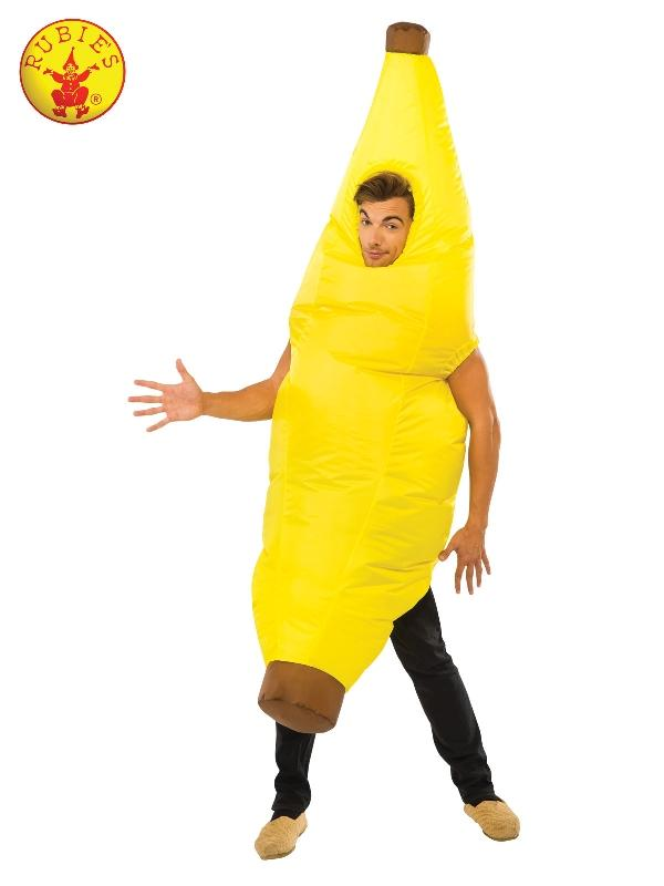 Banana Inflatable Costume, Adult