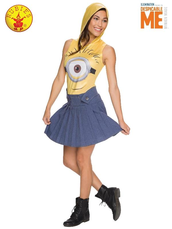 Minion Face Dress, Adult