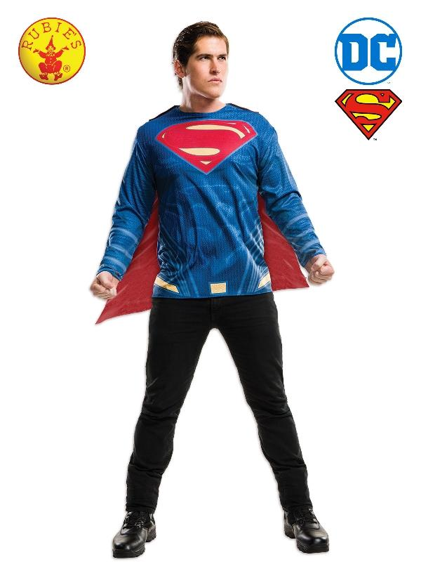 Superman Dawn Of Justice Costume Top, Adult
