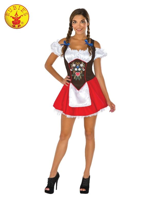 Beer Garden Babe Costume, Adult
