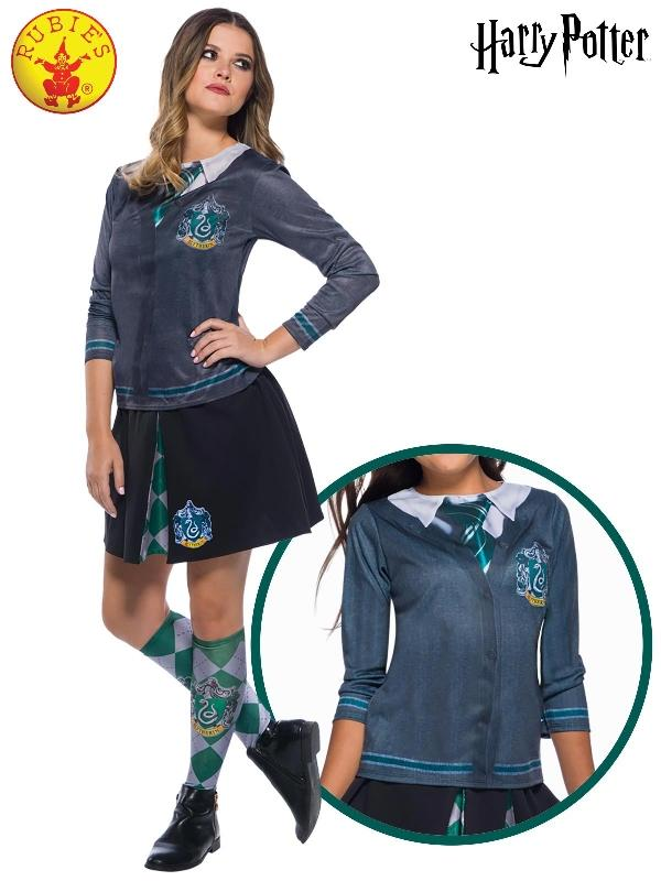 Slytherin Costume Top, Adult