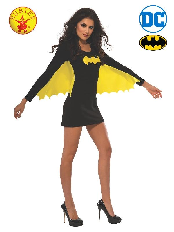 Batgirl Dress With Wings, Adult