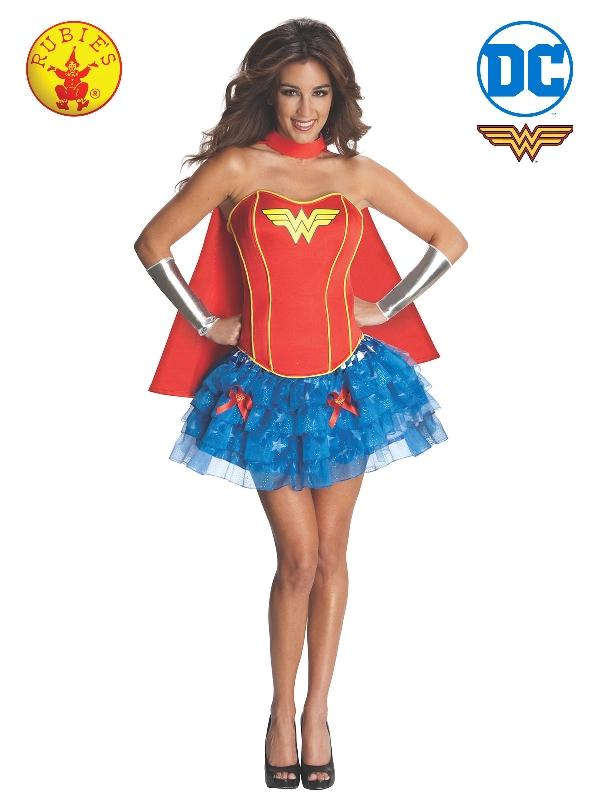Wonder Woman Secret Wishes Costume, Adult
