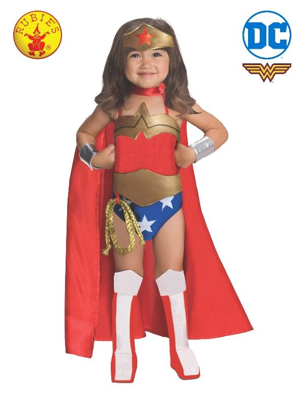 Wonder Woman Deluxe Costume, Toddler/Child