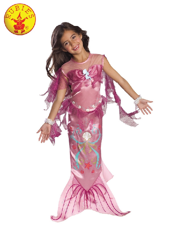 Pink Mermaid Classic Costume, Child