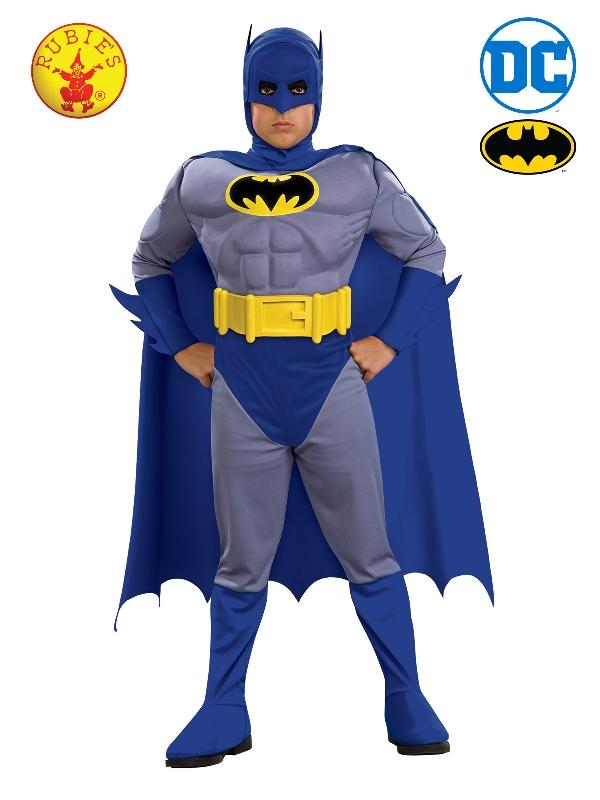 Batman Deluxe Muscle Chest Costume, Child