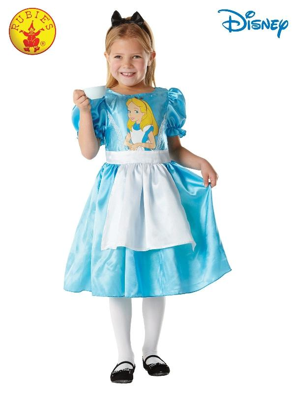 Alice In Wonderland Classic Costume, Child