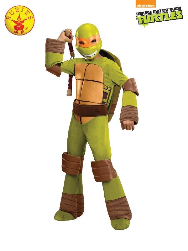 Tmnt Michelangelo Deluxe Costume, Child