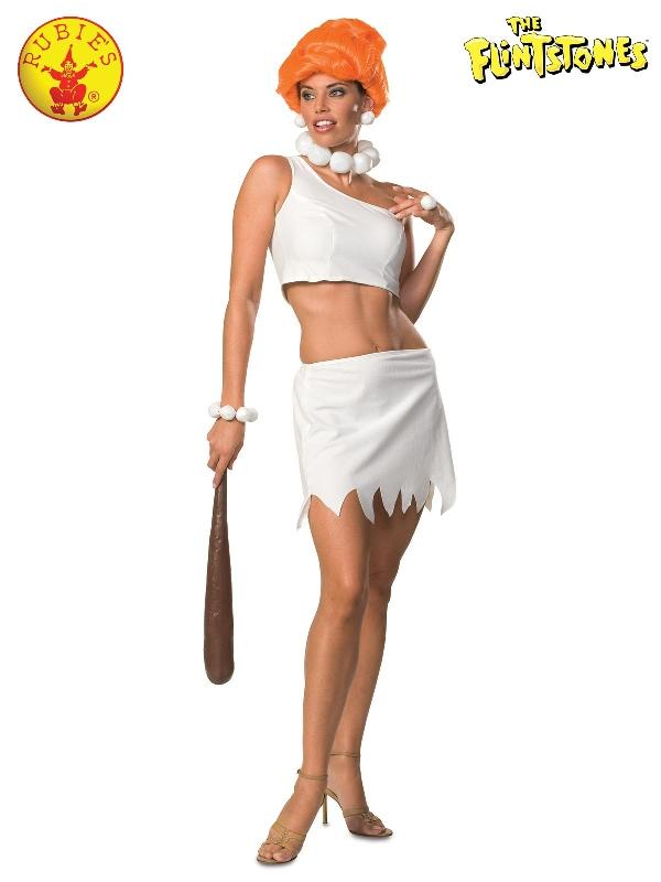 Wilma Flintstone Secret Wishes Costume, Adult