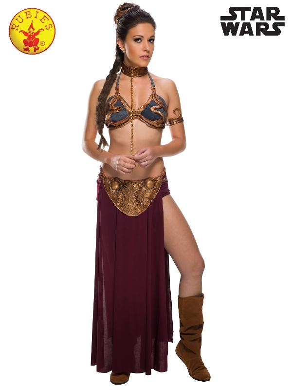 Princess Leia Secret Wishes Slave Costume, Adult