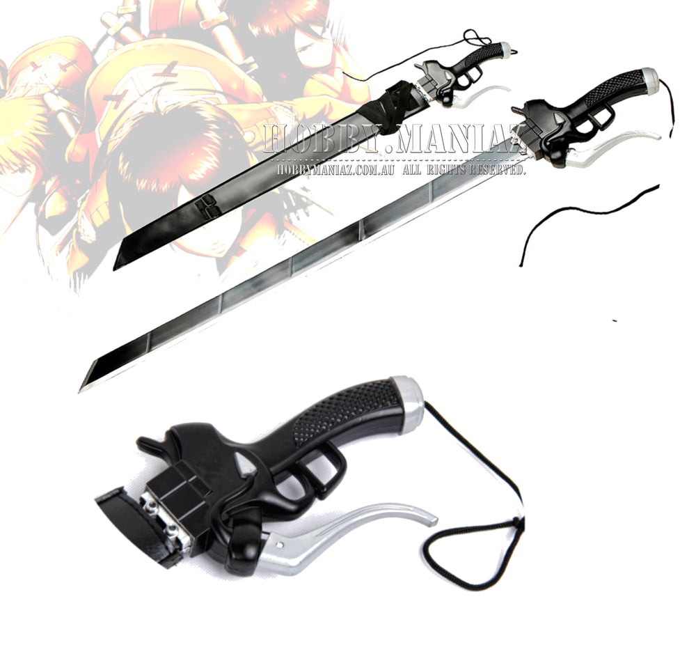 Attack on Titan Shingeki no Kyojin Gun Blade Sword