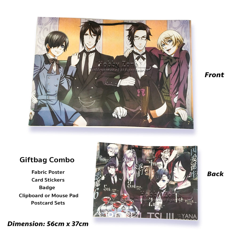 Black Butler Mystery Gift Bag