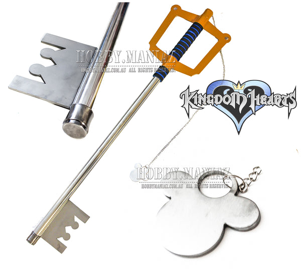Sora Stainless Steel Keyblade Cosplay