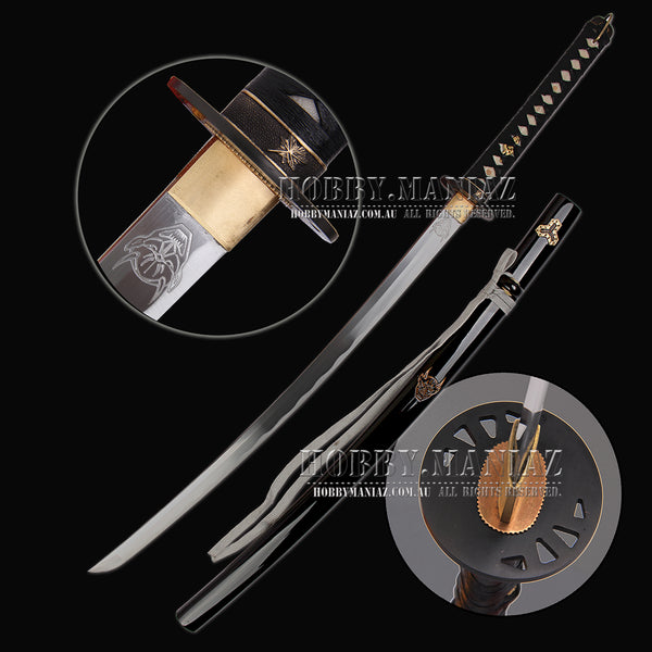 Kill Bill Hiro Hattori Hanzo Bride's Hand-forged Full Tang Samurai Katana