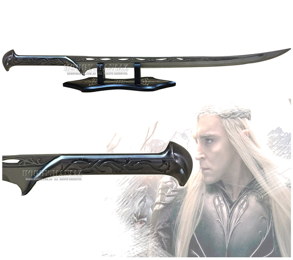 LOR Hobbit Sword of Thranduil with Stand