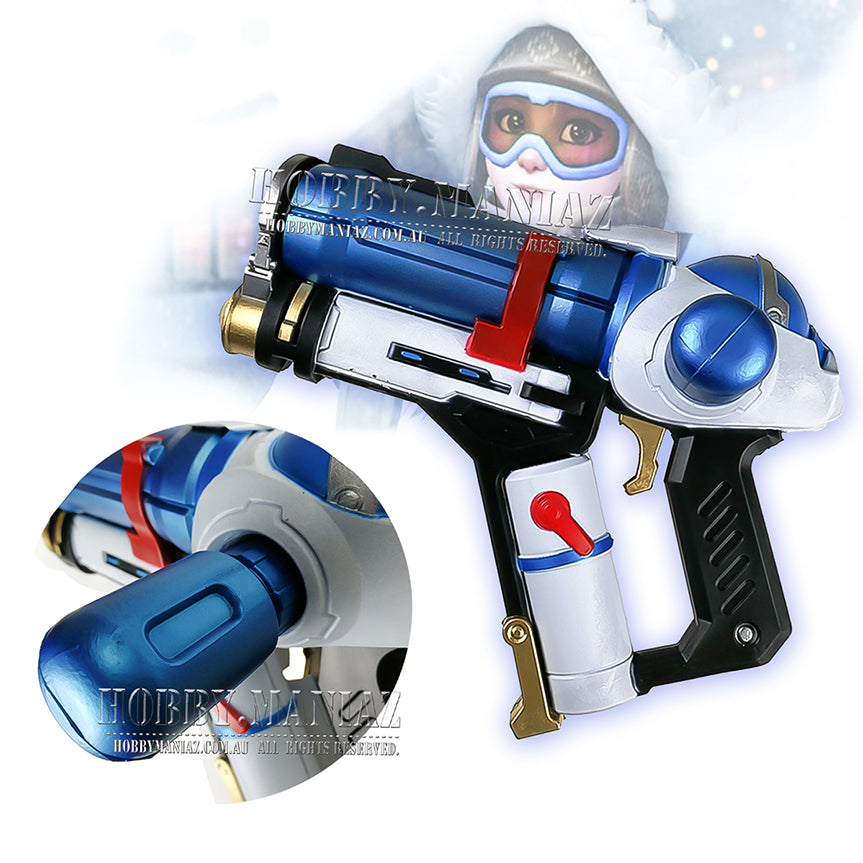 Mei Endothermic Blaster Gun Foam PU Cosplay Weapon