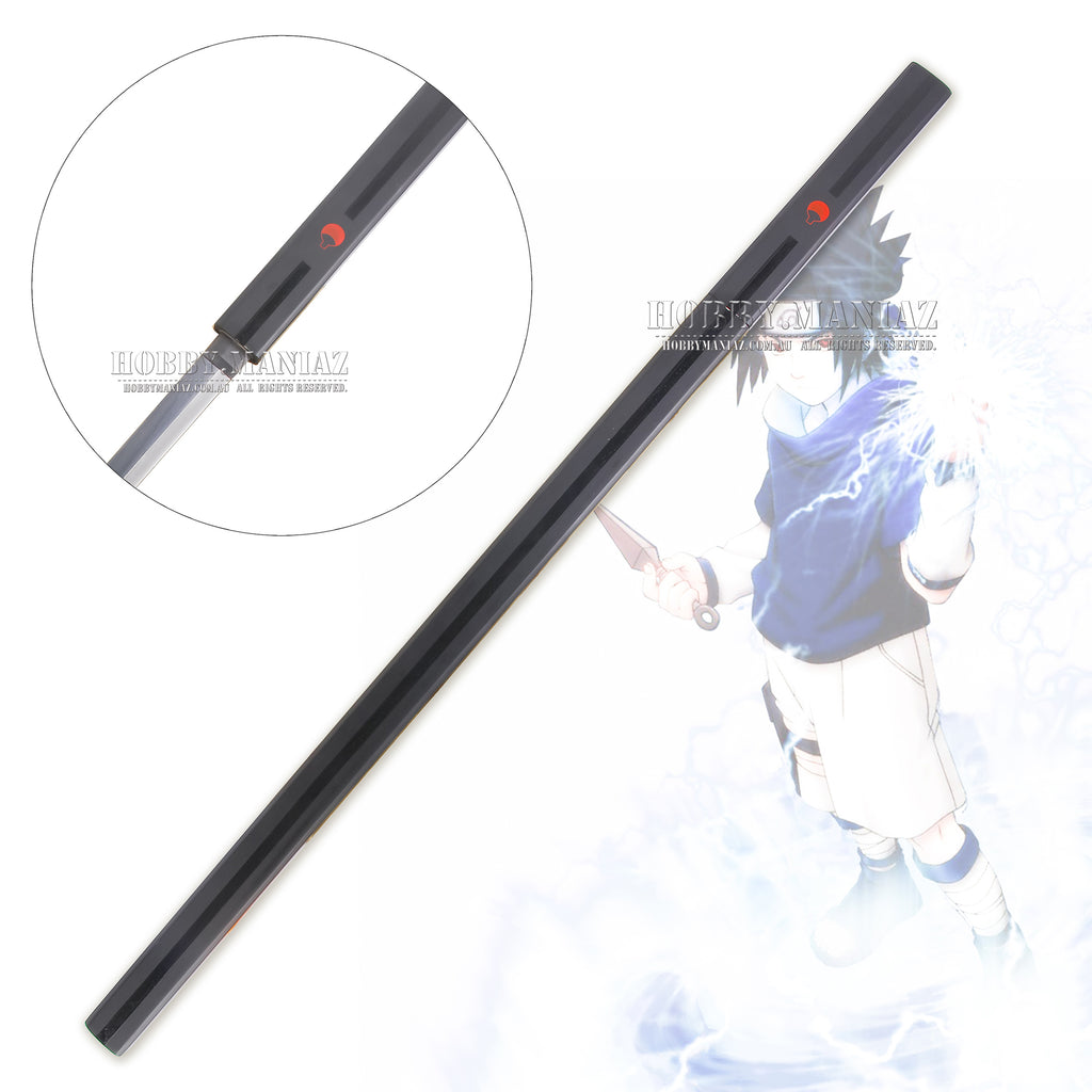 Naruto Sasuke Grass Cutter Sword - Black