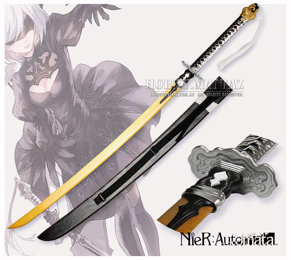Nier: Automata Cosplay Gold 9S Sword