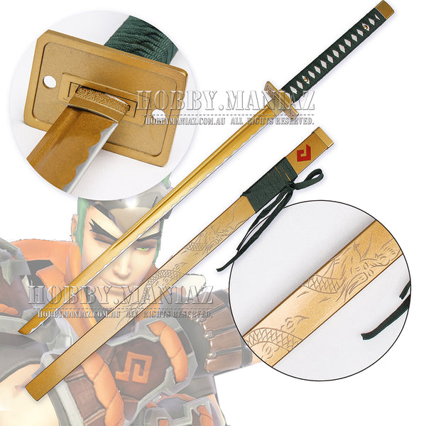 Young Genji Shimada Golden Sparrow Dragonblade Sword
