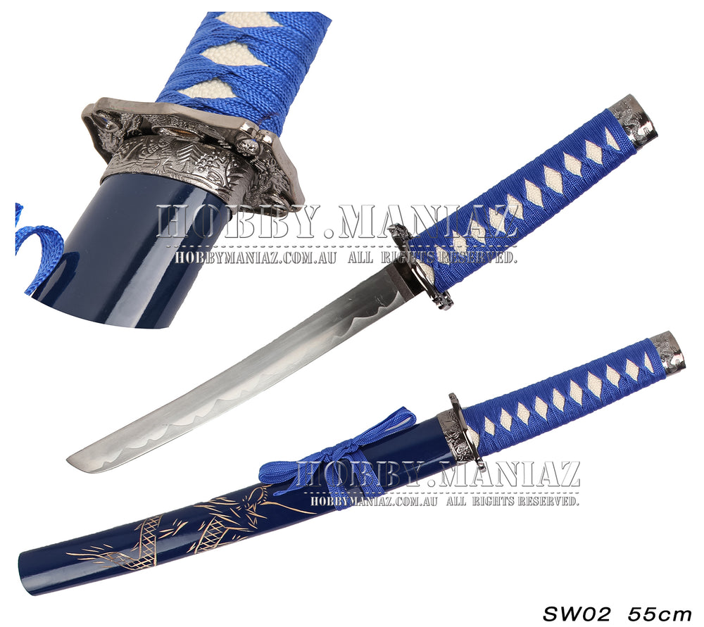 Mini Samurai Sword-Blue