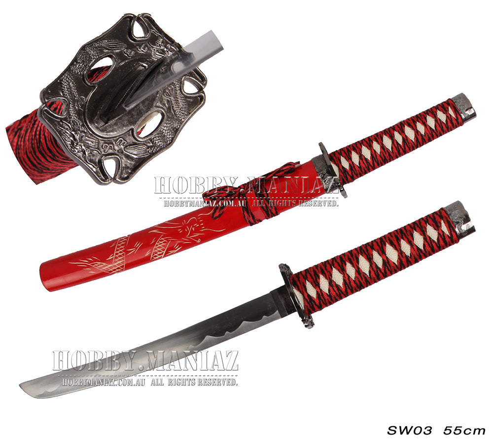 Mini Samurai Sword-Red