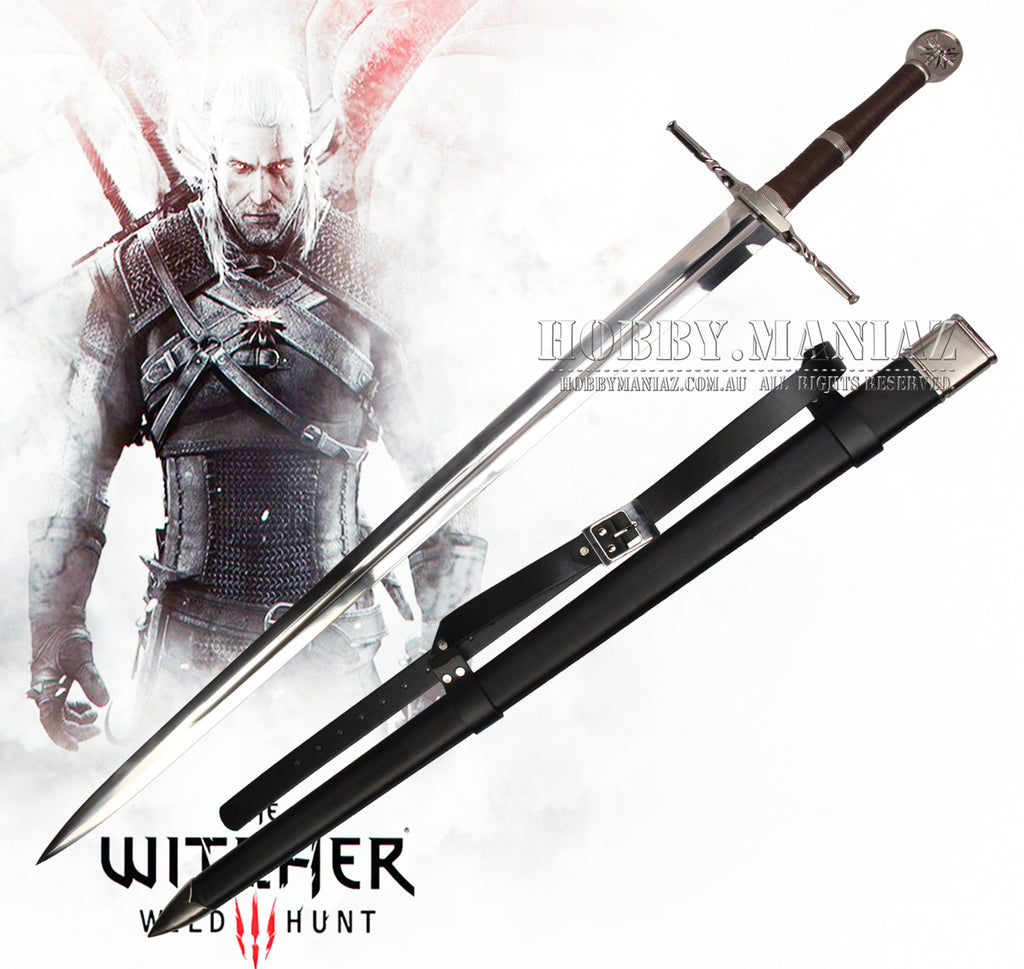 Witcher Geralt Of Rivia Steel Sword