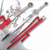 Witcher Ciri Cirilla Fiona Elen Riannon's Sword-Red