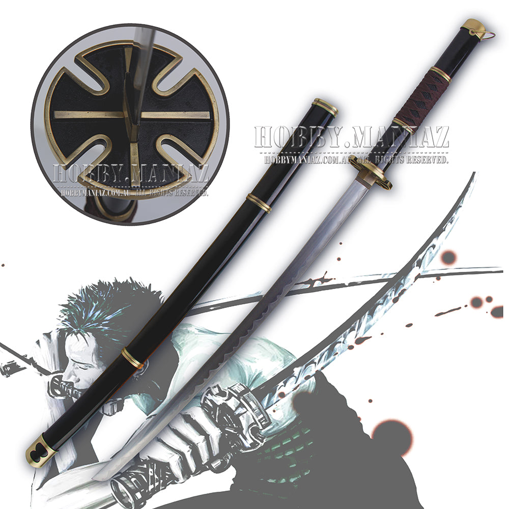 One Piece Zoro Yubashiri Cosplay Sword