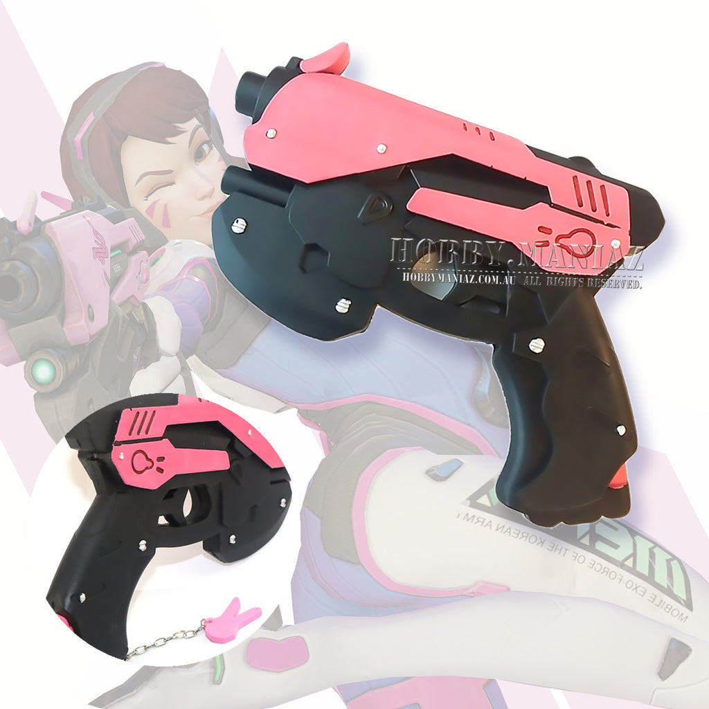 Dva Hana Song PU Foam Gun Pistol Cosplay Weapon