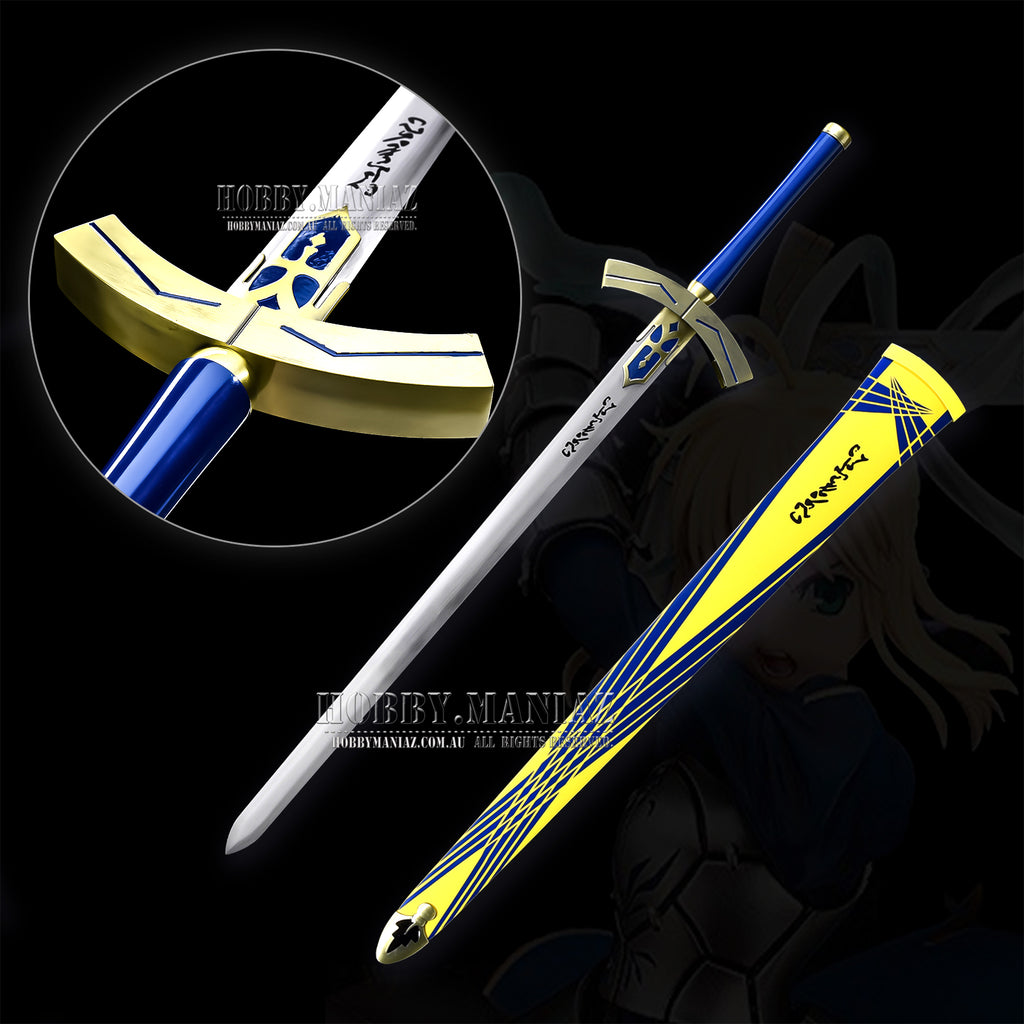 Fate Stay Night Saber Lily Victory Excalibur Sword