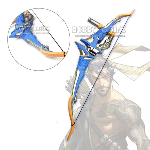 Hanzo Storm Bow Gun Foam PU Cosplay Weapon