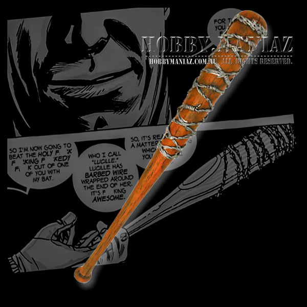 Lucille Foam PU Cosplay Bat Replica