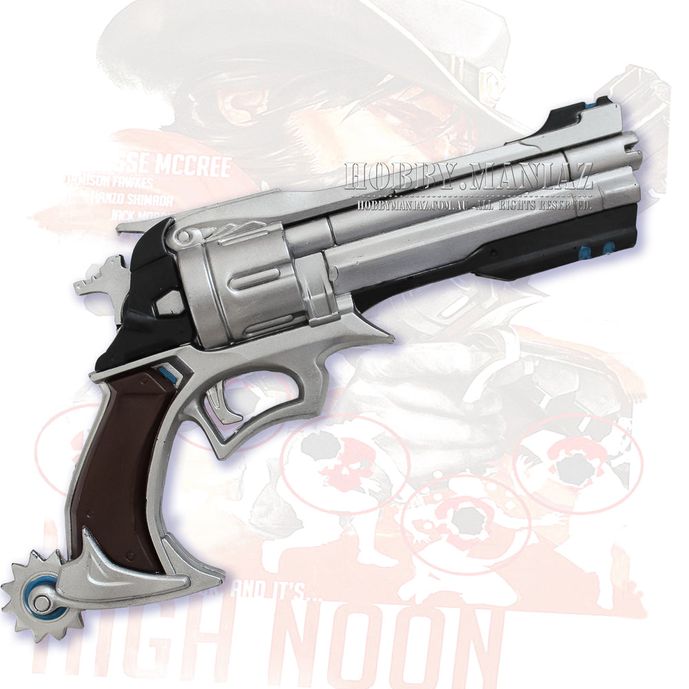 Jesse McCree Peacekepper Gun Pistol Foam Cosplay Weapon