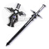Sword Art Online Kirito's Dark Repulser Sword - Black