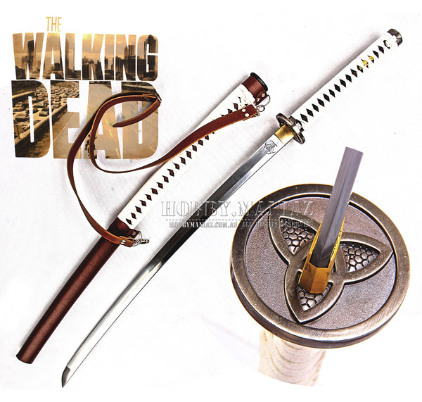 Michionne's Hand-Forged Full Tang Samurai Katana Sword
