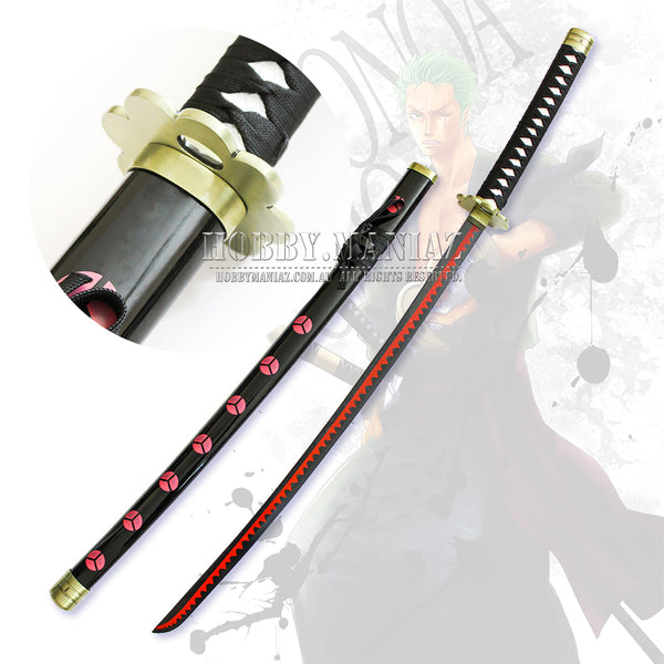 One Piece Zoro Shusui Cosplay Sword