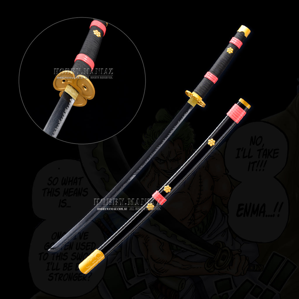 One Piece Zoro Enma Sword