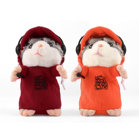 Hot! Talking Hamster Mouse with Hoodie